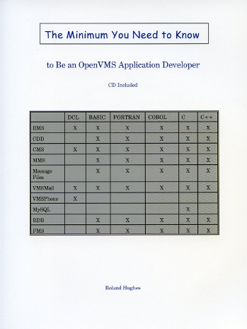 OpenVMS Book Cover